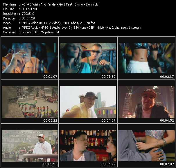 Wisin And Yandel - Gold2 Feat. Divino - Zion video screenshot