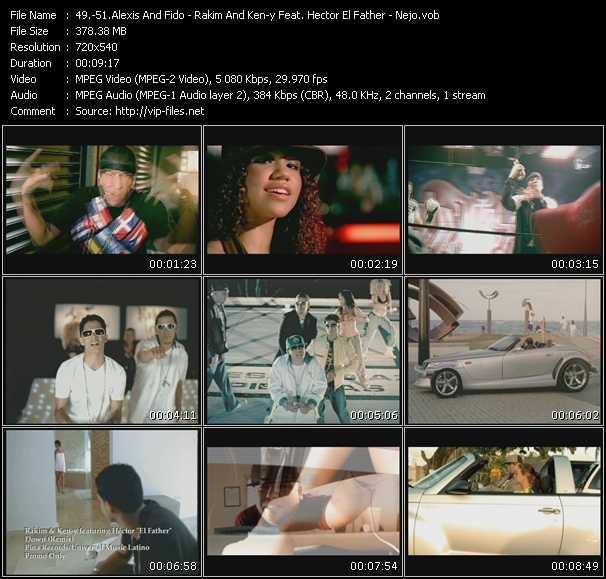 Alexis And Fido - Rakim And Ken-y Feat. Hector El Father - Nejo video screenshot