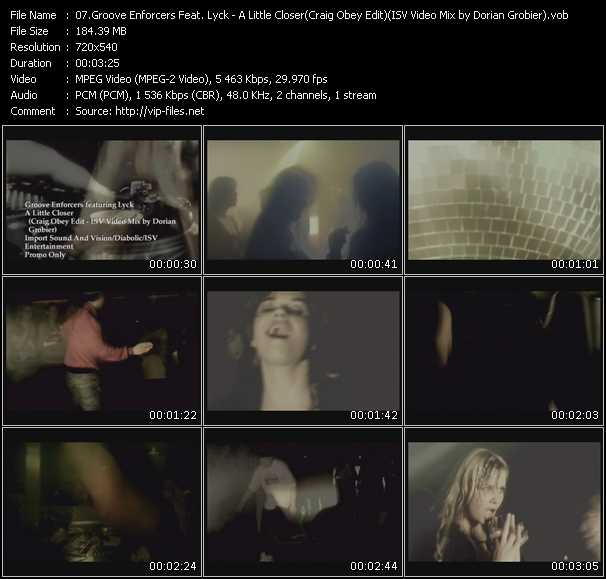 Groove Enforcers Feat. Lyck video screenshot