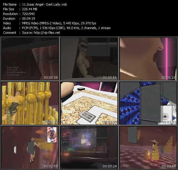 Isaac Angel video screenshot