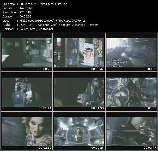 Spice Girls video screenshot