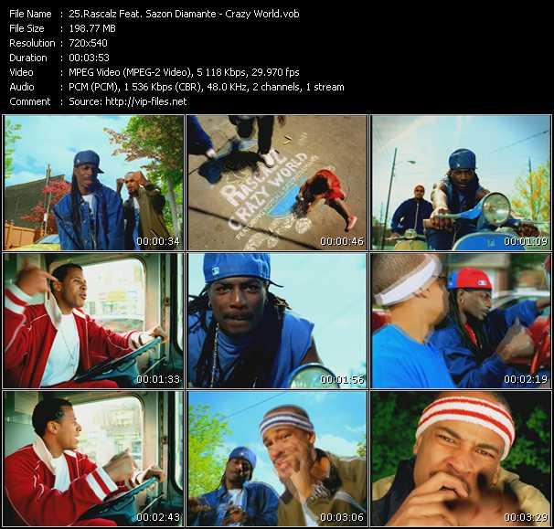 Rascalz Feat. Sazon Diamante video screenshot
