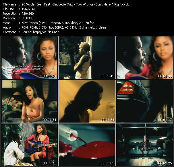 Wyclef Jean Feat. Claudette Oritz video screenshot