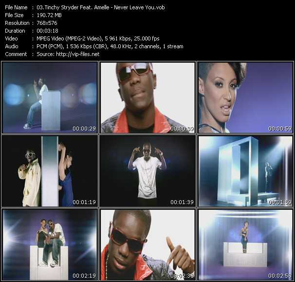 Tinchy Stryder Feat. Amelle video screenshot