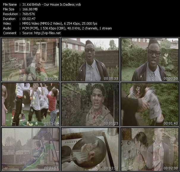 Kid British video screenshot
