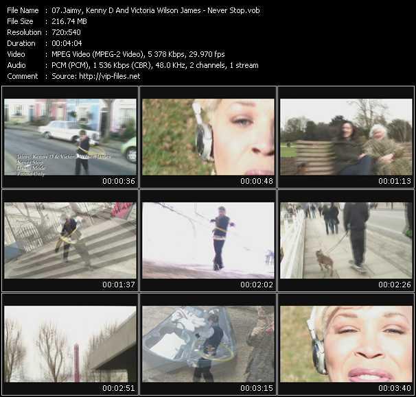 Jaimy, Kenny D And Victoria Wilson James video screenshot