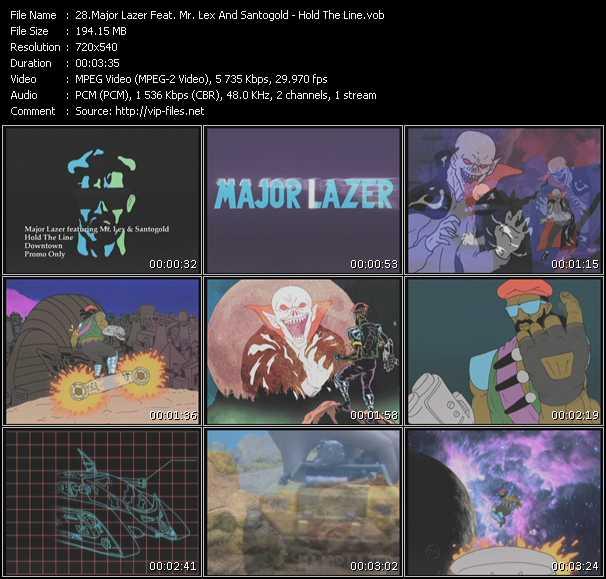 Major Lazer Feat. Mr. Lex And Santigold (Santogold) video screenshot