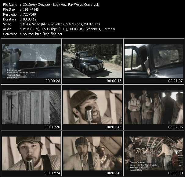 Corey Crowder video screenshot