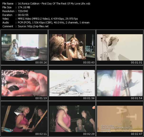 Ronica Coldiron video screenshot