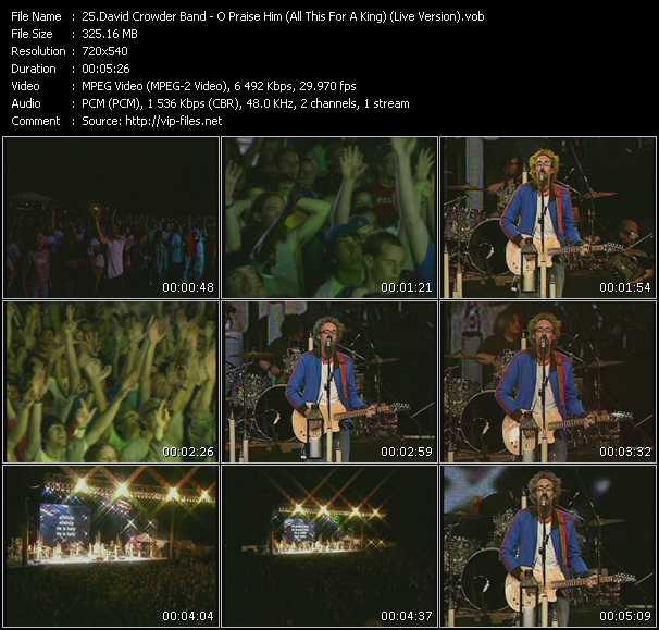 David Crowder Band video screenshot