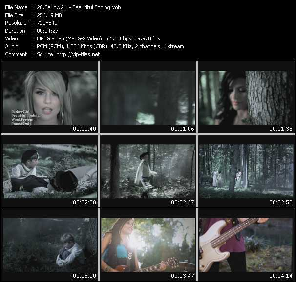 BarlowGirl video screenshot