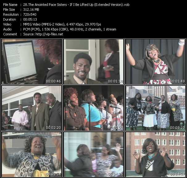 Anointed Pace Sisters video screenshot