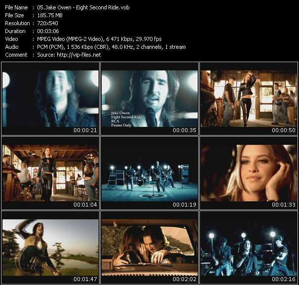 Jake Owen video screenshot