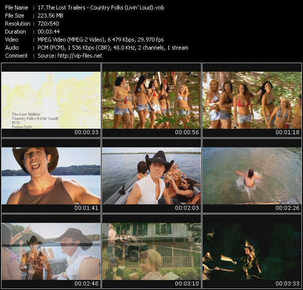 Lost Trailers video screenshot