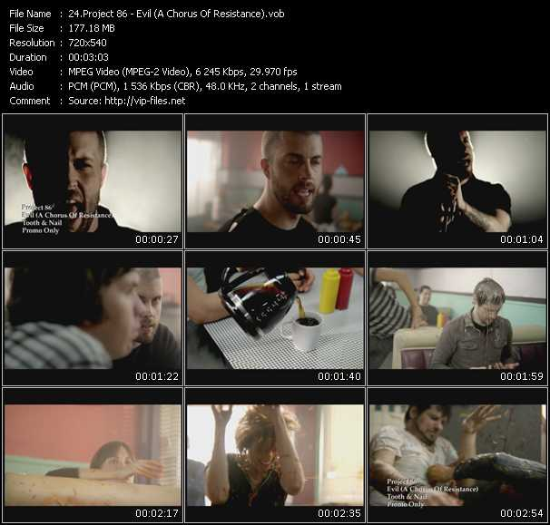 Project 86 video screenshot