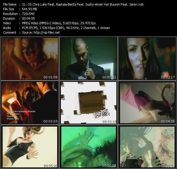 Chris Lake Feat. Nastala - BenDj Feat. Sushy - Armin Van Buuren Feat. Jaren video screenshot