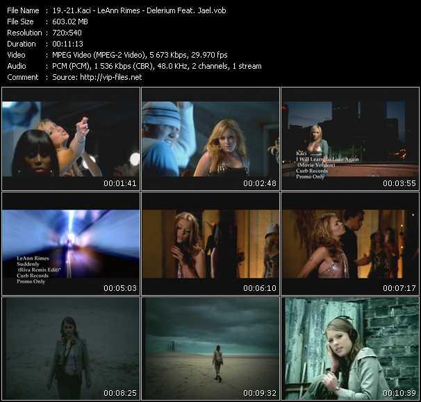 Kaci - LeAnn Rimes - Delerium Feat. Jael video screenshot