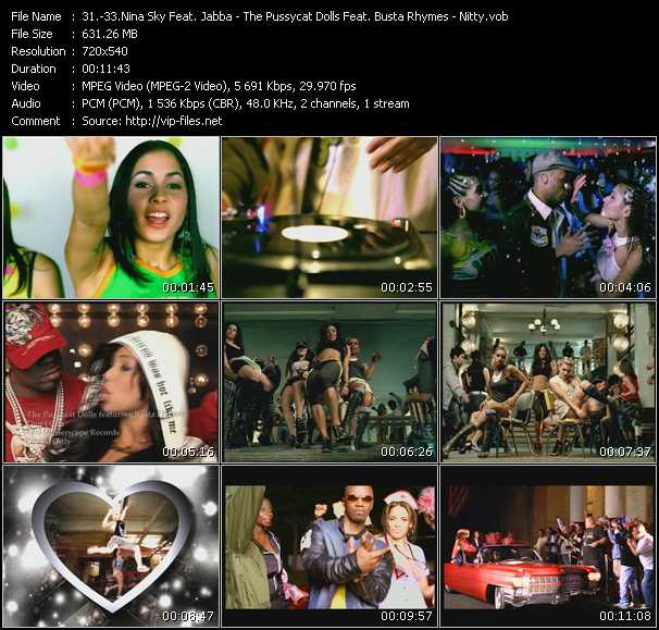 Nina Sky Feat. Jabba - Pussycat Dolls Feat. Busta Rhymes - Nitty video screenshot