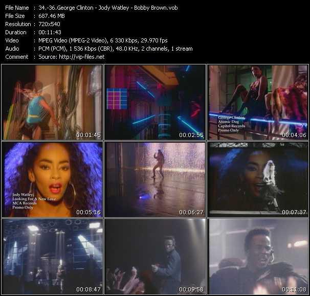 George Clinton - Jody Watley - Bobby Brown video screenshot