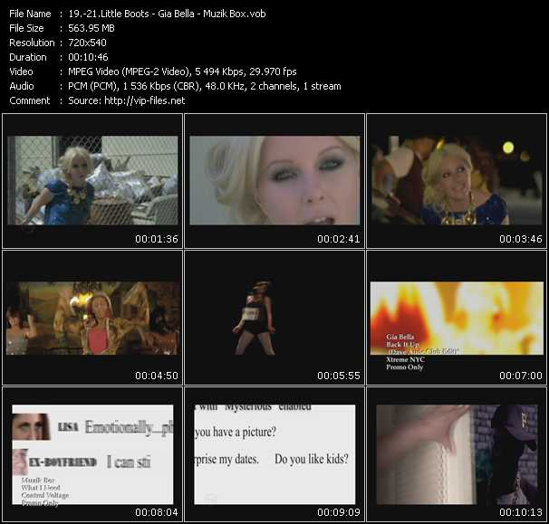 Little Boots - Gia Bella - Muzik Box video screenshot