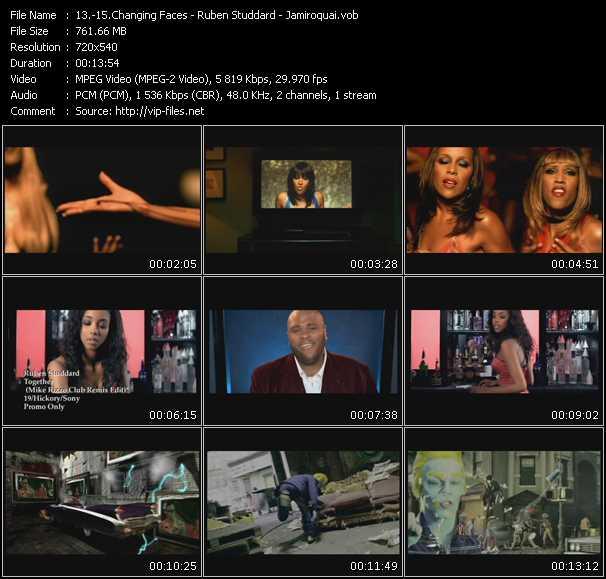 Changing Faces - Ruben Studdard - Jamiroquai video screenshot