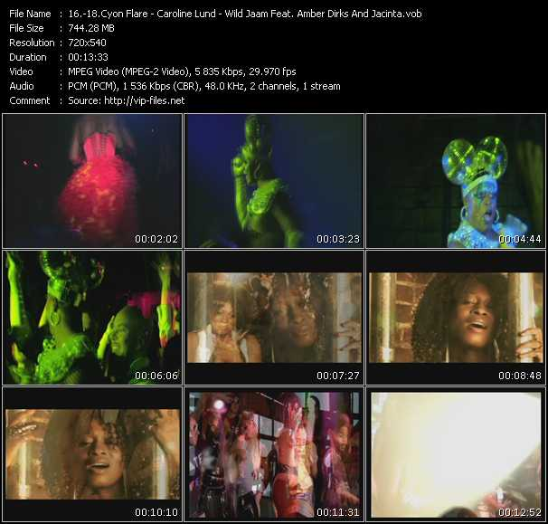 Cyon Flare - Caroline Lund - Wild Jaam Feat. Amber Dirks And Jacinta video screenshot