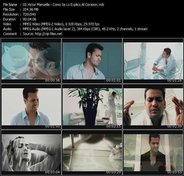 video Como Se Lo Explico Al Corazon screen