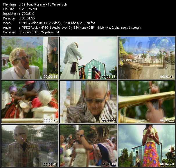 Tono Rosario video screenshot