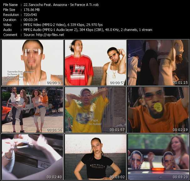 Sancocho Feat. Amazona video screenshot