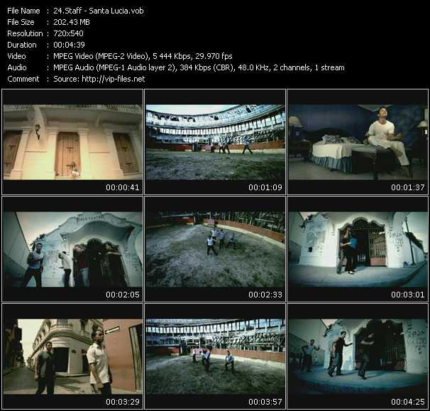 Staff video screenshot