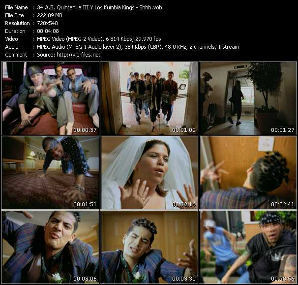 A.B. Quintanilla III And Los Kumbia Kings video screenshot