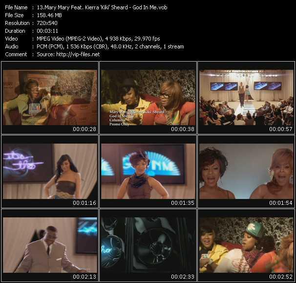 Mary Mary Feat. Kierra 'Kiki' Sheard video screenshot