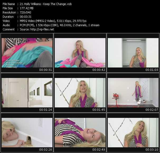 Holly Williams video screenshot