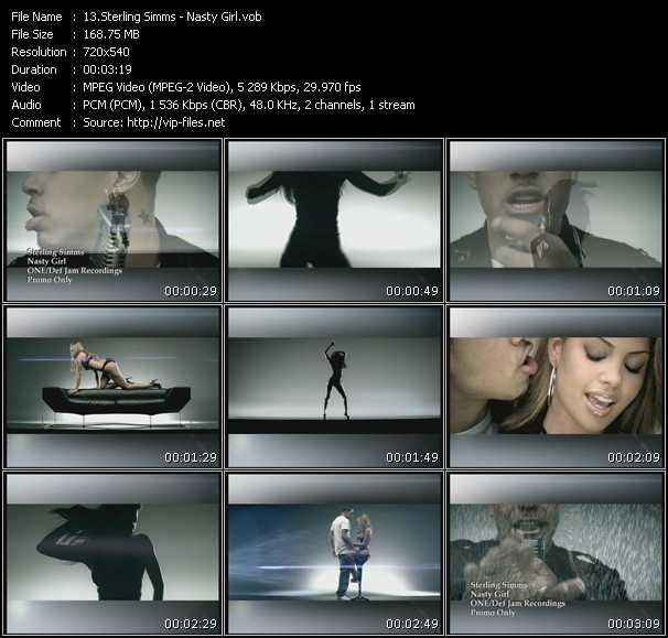 Sterling Simms video screenshot