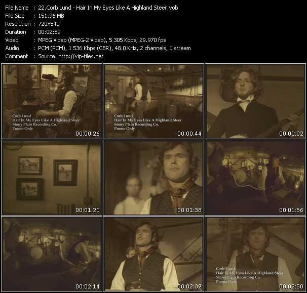Corb Lund video screenshot