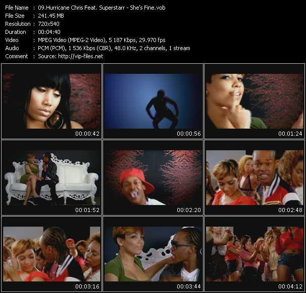 Hurricane Chris Feat. Superstarr video screenshot