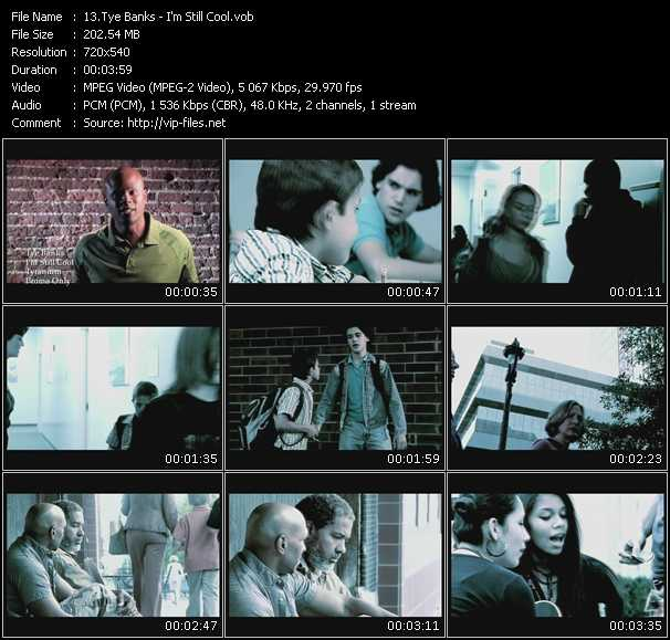 Tye Banks video screenshot