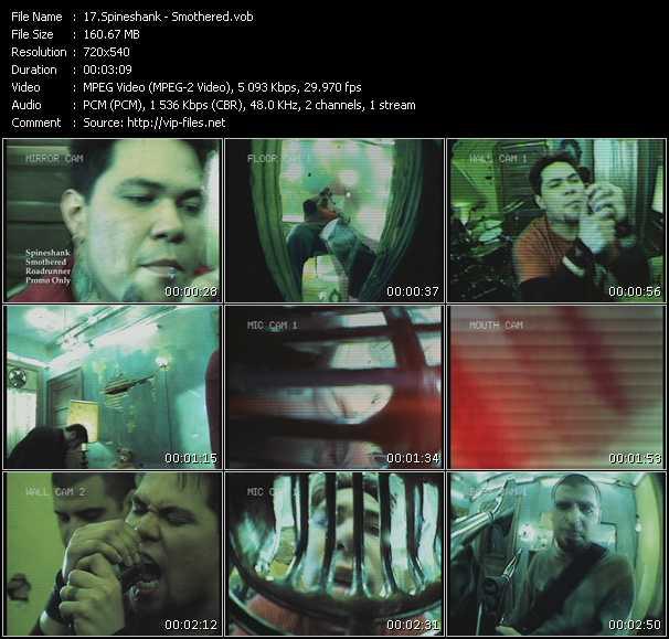 Spineshank video screenshot