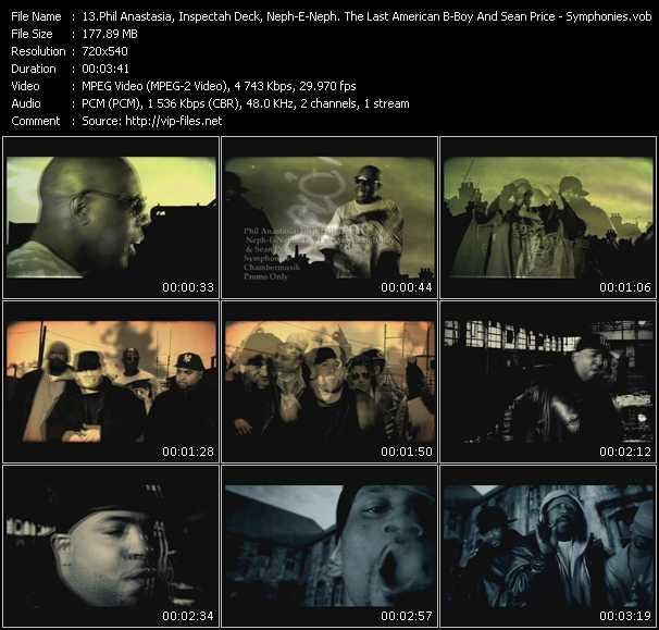 Phil Anastasia, Inspectah Deck, Neph-E-Neph. The Last American B-Boy And Sean Price video screenshot