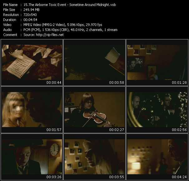 Airborne Toxic Event video screenshot