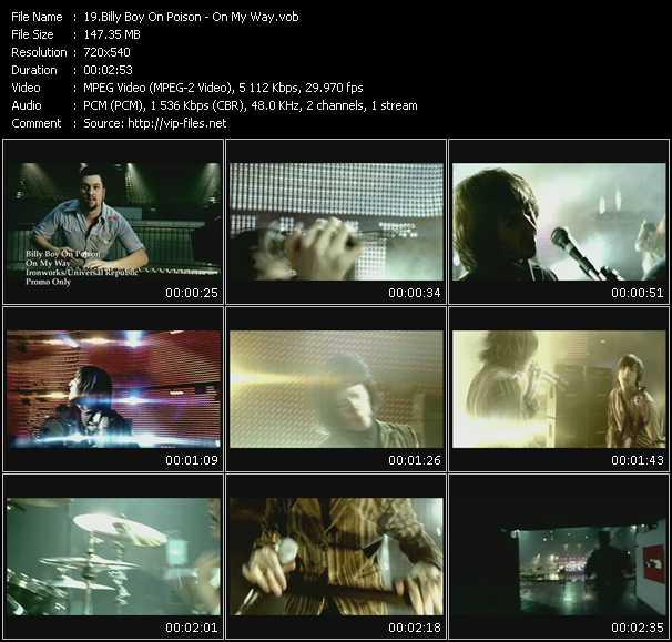 Billy Boy On Poison video screenshot