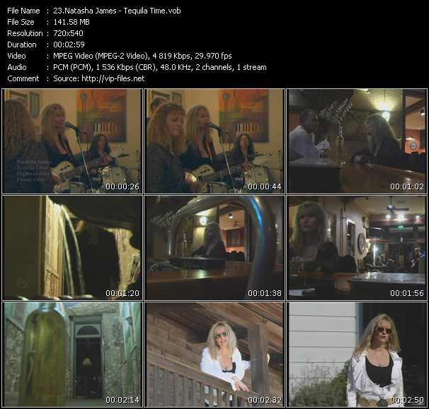 Natasha James video screenshot