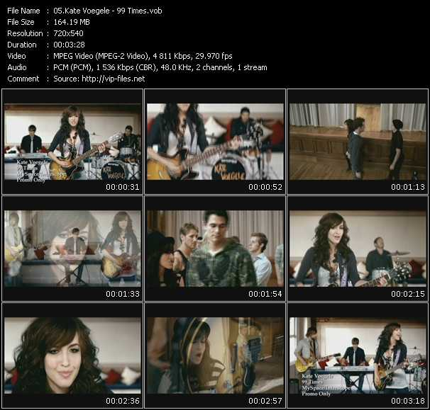 Kate Voegele video screenshot