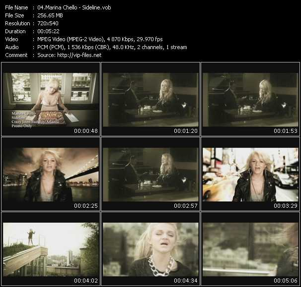 Marina Chello video screenshot