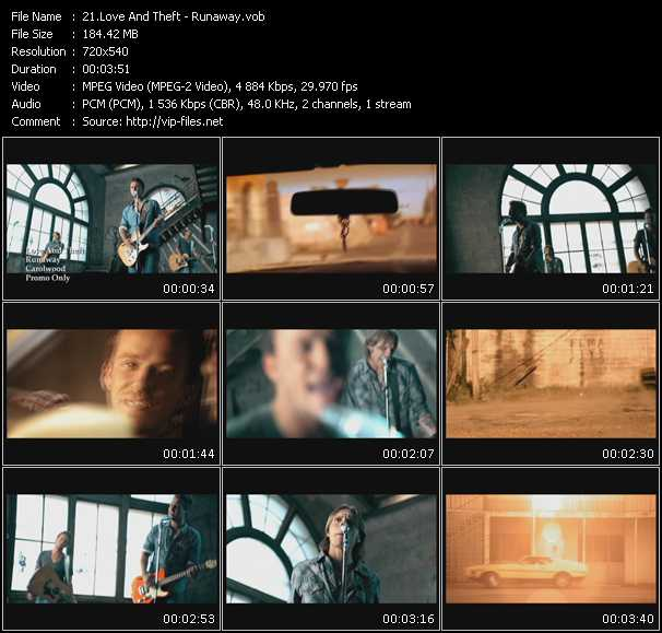 Love And Theft video screenshot