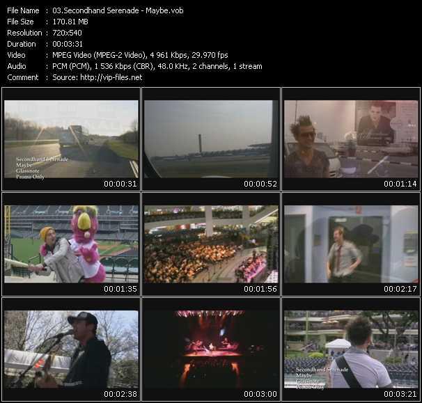 Secondhand Serenade video screenshot