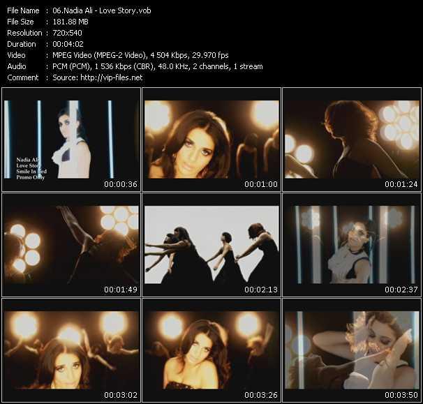 Nadia Ali video screenshot
