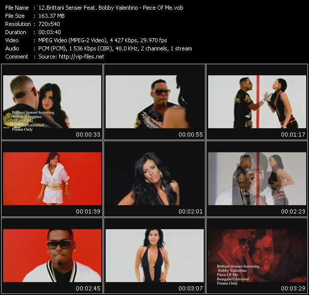 Brittani Senser Feat. Bobby Valentino (Bobby V) video screenshot