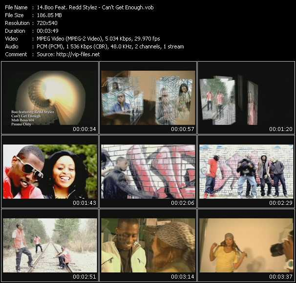 Boo Feat. Redd Stylez video screenshot