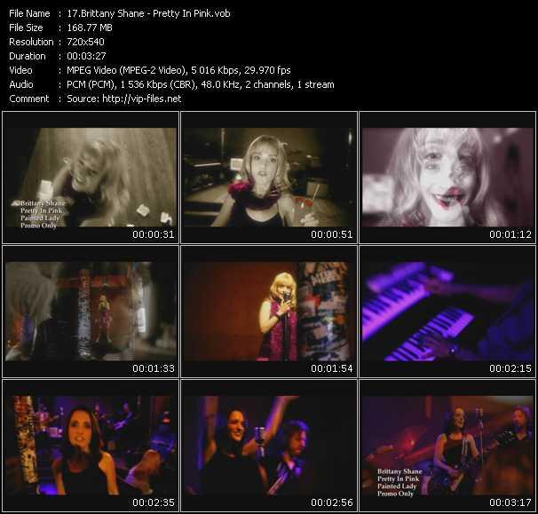Brittany Shane video screenshot